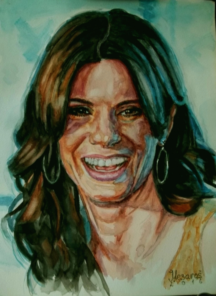 Sandra Bullock by jmesaross